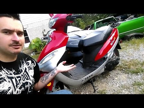 Tank Scooter Urban 50cc Product Review