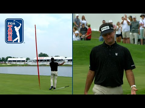 Bubba finds water, makes improbable par save from 56 feet at 3M