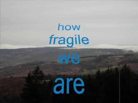 Sting -  Fragile - my cover-version (+ lyrics)