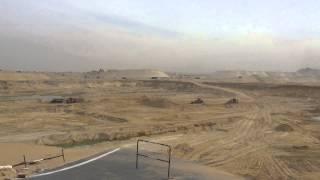 قناة السويس الجديدة مصر:موقع السيسي بعد 120يوم من الحفرنوفمبر2014