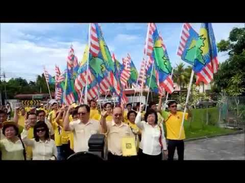 SAPP Candidates For Likas/Luyang/Api Api State Constituency At Nomination Center