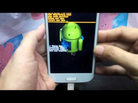 hard reset ซัมซุง S4  เครื่องจีน เครื่องล็อค ลืมรหัสผ่าน ล้างเครื่อง ฟอร์แมต