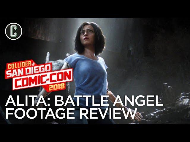 Alita: Battle Angel Comic-Con Footage Review - SDCC 2018