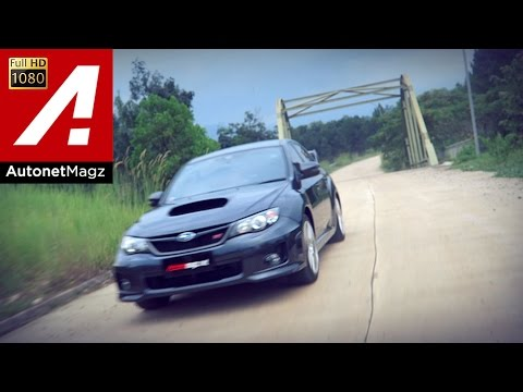 Test drive Subaru WRX STi UK-spec (GVF) by AutonetMagz