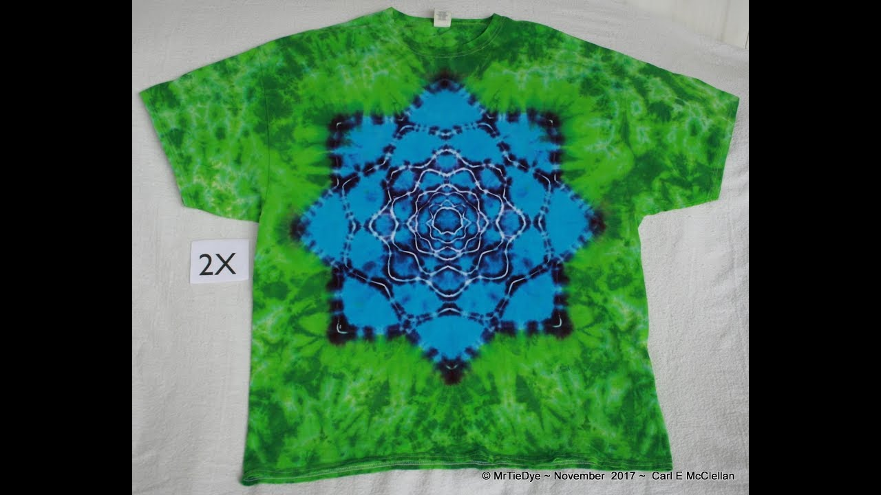 acdc49fe6a7fd9 How to Tie-Dye Lotus Mandala pt 1 ~ Tying - YouTube