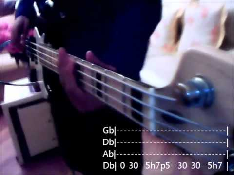 Bully Shinedown basscover with Tabs