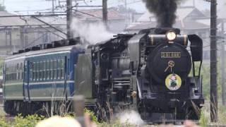蒸気機関車デゴイチ(D51)健在 thumbnail