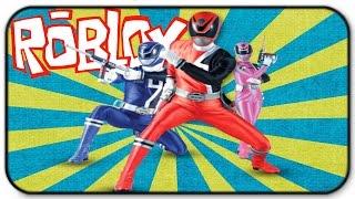 Roblox Super Hero Tycoon - Go Go Power Rangers