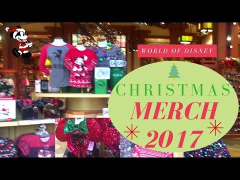 Shop With Me | New Disney Parks Christmas Merch 2017 from World of Disney - With Prices!!