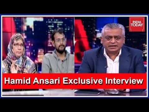 Hamid Ansari & Family Speak Exclusive To Rajdeep Sardesai | First Interview After His Return