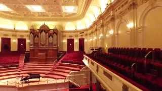 At The Royal Concertgebouw...