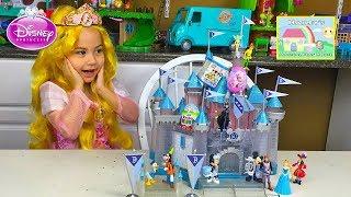 Big Diamond Limited Edition Sleeping Beauty Castle Toy! Disney Princess Toys