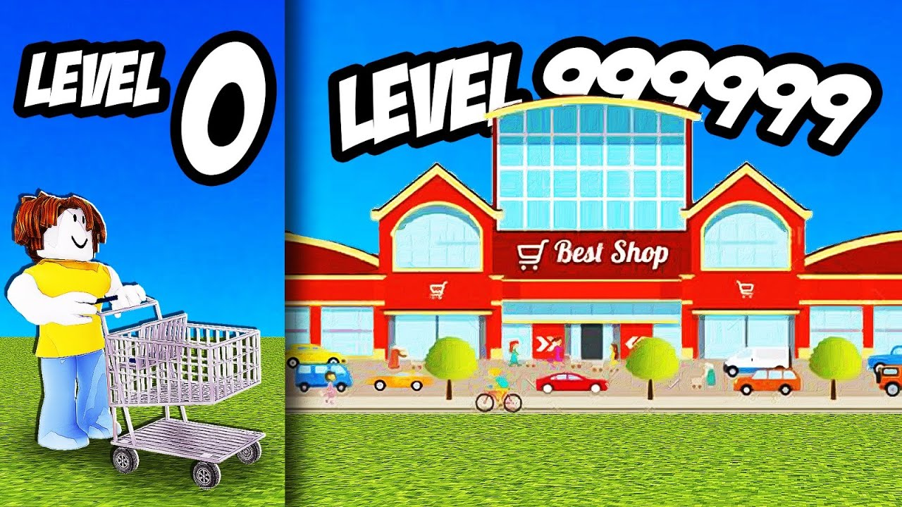 Roblox Shopping Tycoon Building Max Level Shopping Mall In Roblox Mall Tycoon Youtube
