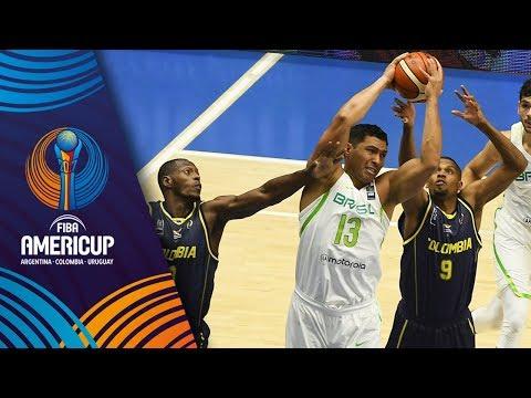 Brazil v Colombia - Full Game - FIBA AmeriCup 2017
