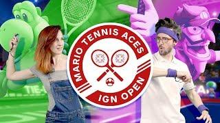 Mario Tennis Aces: The IGN Open