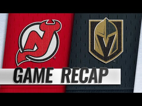 Golden Knights edge Devils for sixth straight win