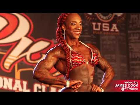 IFBB Chicago Pro 2019 Women Physique PREJUDGING