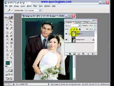Bộ video hướng dẫn sử dụng Photoshop Tiếng Việt dễ hiểu - Hnmovies 18