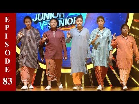D4 Junior Vs Senior I EP 83 - A surprise from judges! I Mazhavil Manorama
