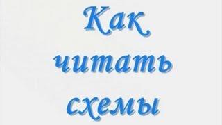 Как читать схемы для вязания на спицах(Все уроки автора на сайте: http://biblioteka-ua.ucoz.ru/ В продолжение урока, урок