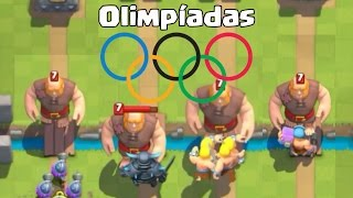 CLASH ROYALE OLYMPICS-who is stronger!!