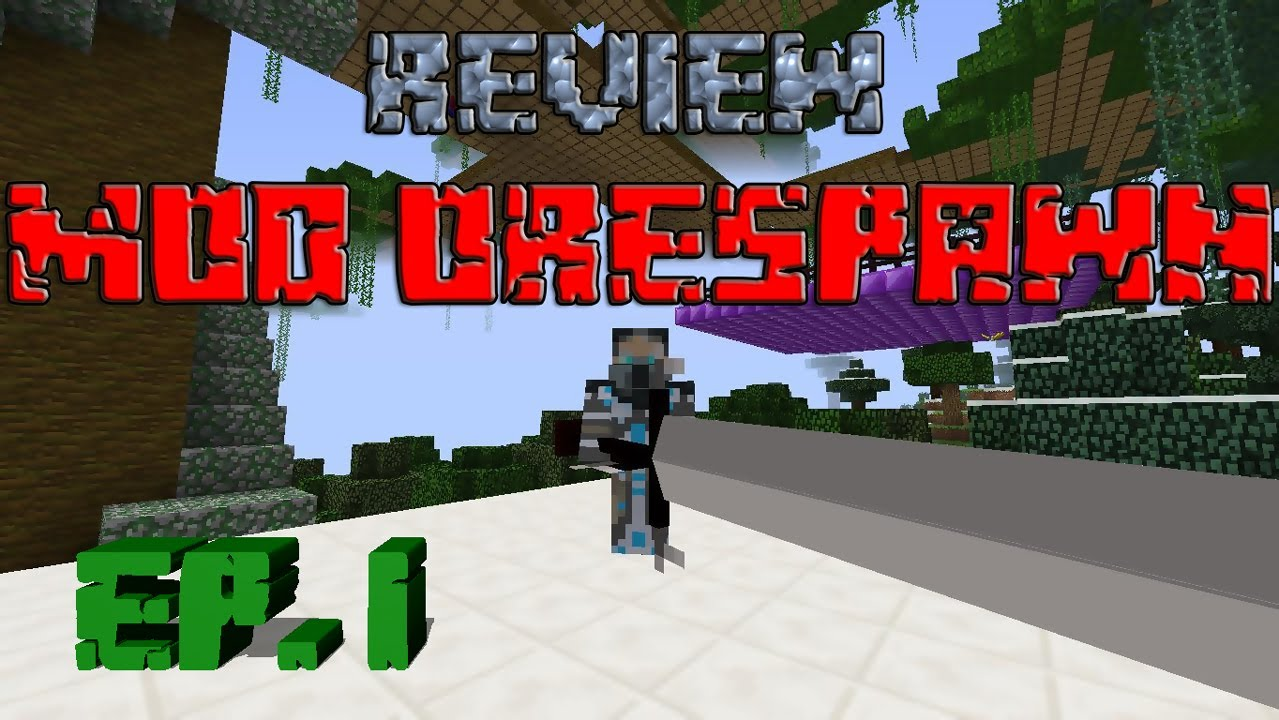 MINECRAFT | REVIEW DEL MOD ORESPAWN!!! EP  1 - ITEMS