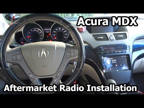 2008 Acura MDX Aftermarket Radio Install