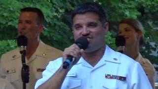 U S Navy Band- Sea Chanters- War Memorial Park, Martinsburg, WV (4)