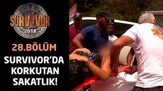 İpek'in korkutan sakatlığı! Hastaneye kaldırıldı...| 28.Bölüm | Survivor 2018