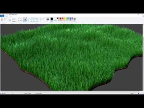 Blender 2.77a Grass Tutorial