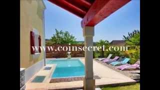 Location en Quercy / Lot, à Cazals, d'une demeure avec piscine, sauna et salle de fitness