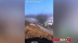 Жители Врангеля продолжают снимать видео угольного ада, в котором они живут