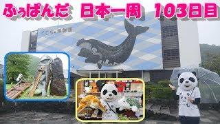ふぅぱんだ 日本一周の旅 103日目(三重県熊野市~和歌山県串本町)