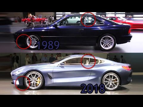 2018 Bmw 8 Series Vs 1989 Differences