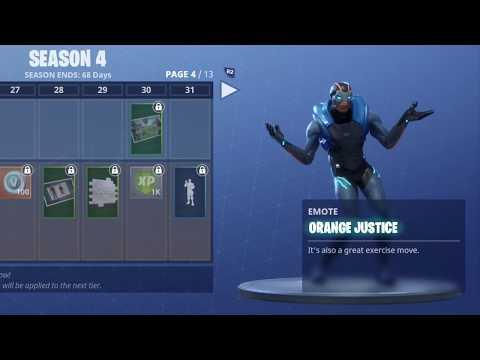 FORTNITE ORANGE JUSTICE DANCE (1 HOUR)