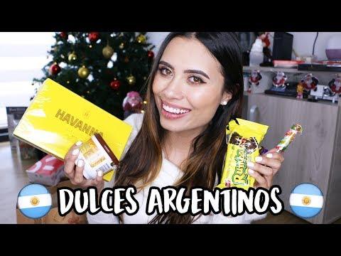 ¡PROBANDO DULCES ARGENTINOS! - Paulettee