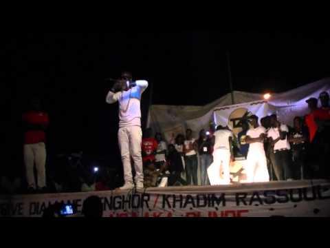 fosco école khadimou Rassoul   concert prestation de Ngaka blindé