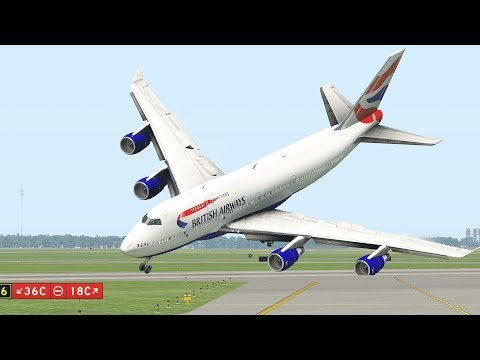 Boeing 747 Suddenly