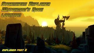 Stormheim Explorer Watchman's Rock location