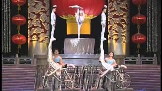 1998年央视春节联欢晚会 杂技《转毯与蹬人》 小米粒|陈扬等| CCTV春晚