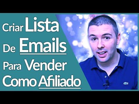 COMO CRIAR LISTA DE EMAILS | 5 Passos Simples | Alex Vargas