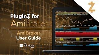 วิธีการใช้งาน โปรแกรมวิเคราะห์หุ้น AmiBroker และการติดตั้งข้อมูลเรียลไทม์ InvestorZ screenshot 2