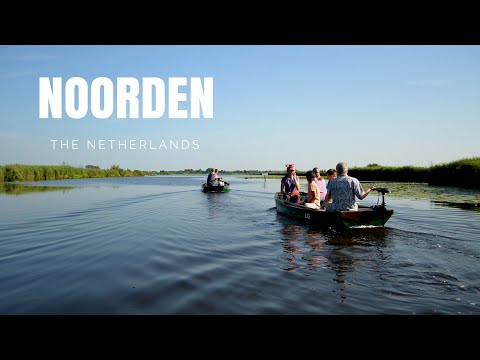 HOLLAND: going on boats in NOORDEN