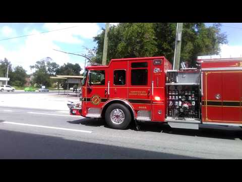 ***NEW*** JFRD Memorial Engine 1 RESPONDING WITH Q