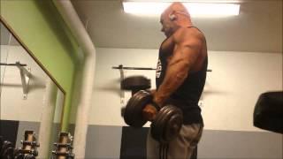 Patrik Zakariasson - Back and biceps workout