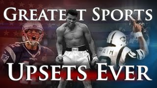 Greatest Sports Upsets Ever - Volume 1