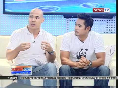 News to Go - Kara David interviews Rovilson Fernandez and Marc Nelson about Earth Hour 3/15/11