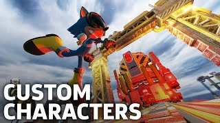 Sonic Forces - Chemical Plant Zone Custom Character Gameplay
