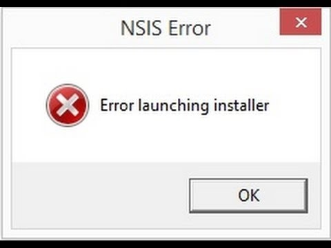 error launching