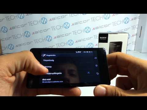 Sony Xperia M okostelefon Android bemutató videó | Tech2.hu